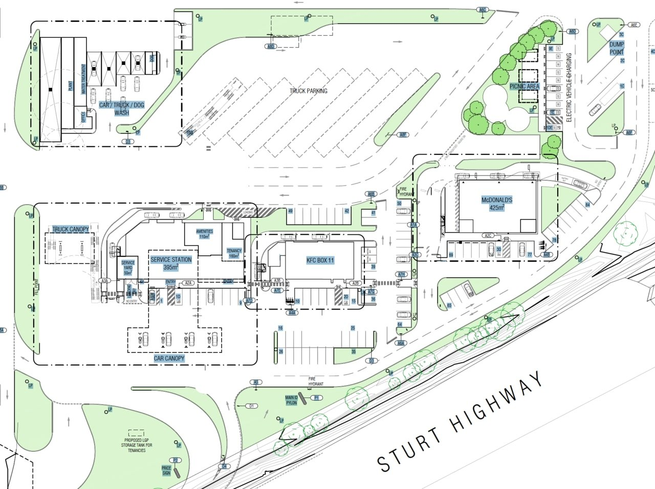 The layout of the new design. Picture: Supplied, Access Planning