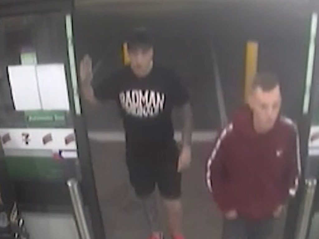 NSW Police launched CCTV footage following a stabbing at a service station at The Entrance.