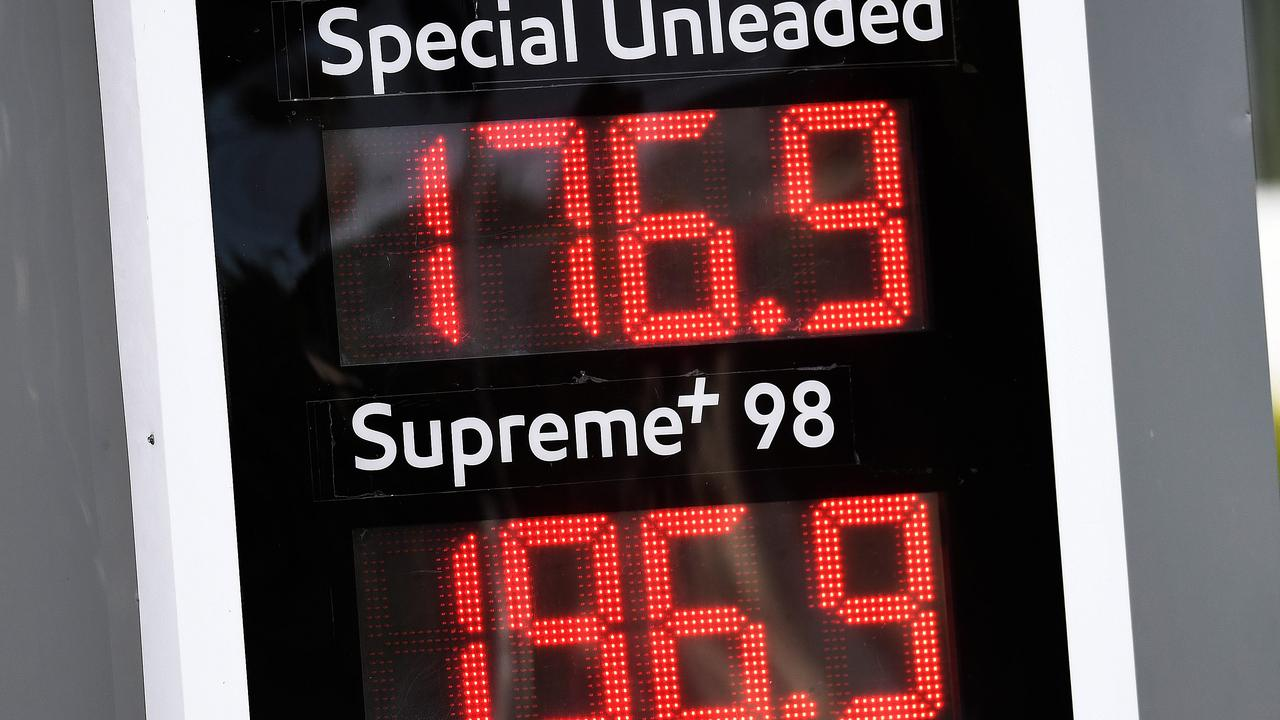 Australia's soaring petrol prices are the result of global factors. Picture: Dan Peled/NCA NewsWire
