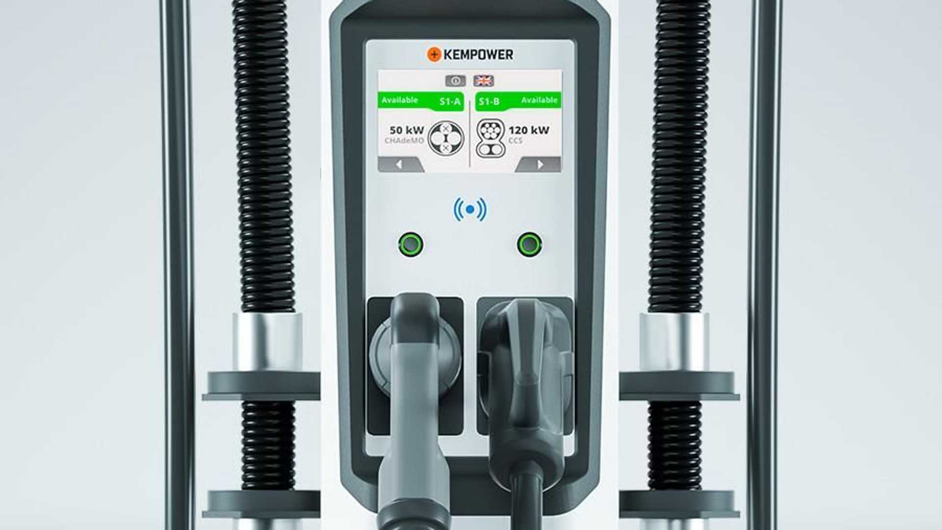 Kempower S-series charging system